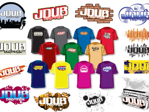 JDUB_Records_T-Shirt_Designs