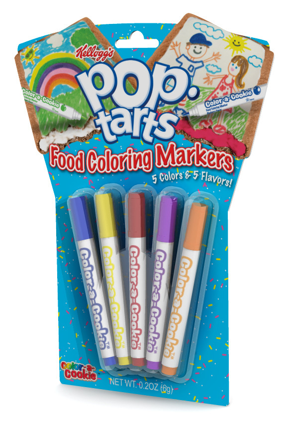 POP TARTS FOOD COLORING MARKER PACK   MICHAEL STRAUSS on The Hunt