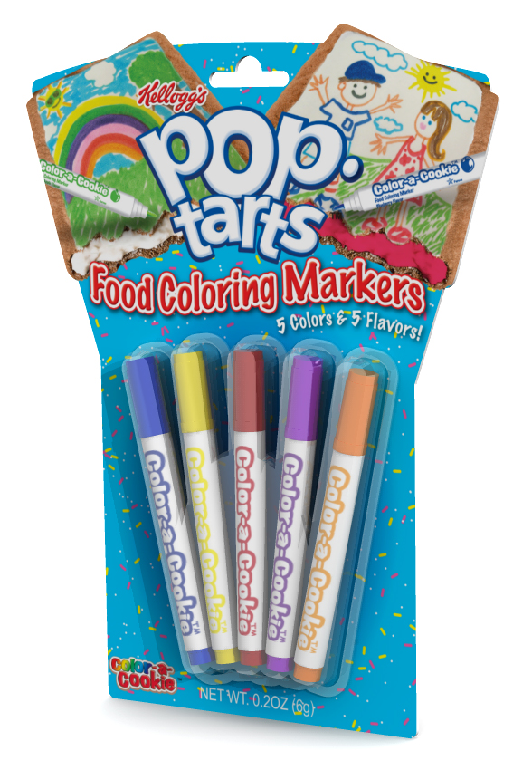Michael Strauss | Pop Tarts Food Coloring Markers